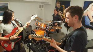 torontio guitar school rockband photos